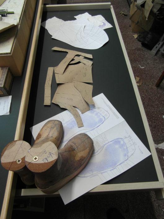 Schuhschaftaufbau