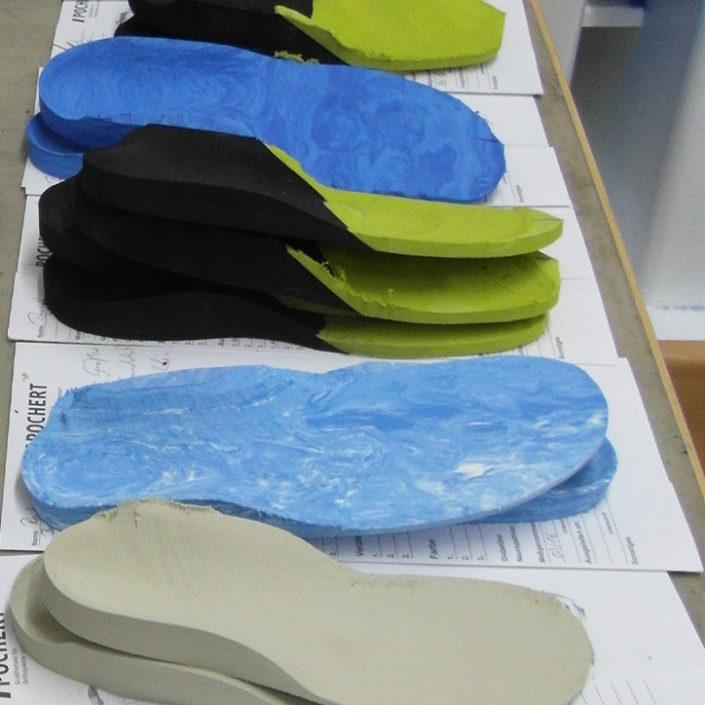 Schuheinlagen - individuelle Vielfalt