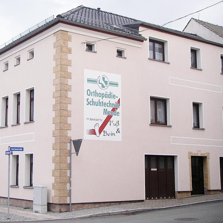 Orthopädie-Schutechnik Mende Gartenstraße 1 Lengenfeld Vogtland
